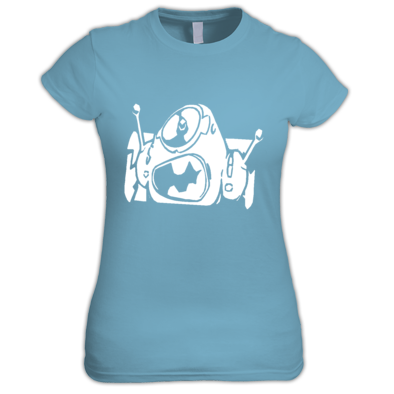 Girl Logo Stamp T