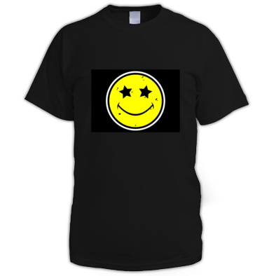 Smiley Sirkuz Mens Tee