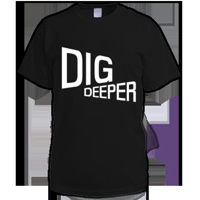 Dig Deeper boys t-shirt
