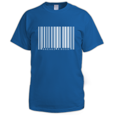 Breakz R Boss Bar Code Tee
