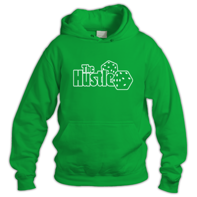 The Hustle Mens Hoody Outline
