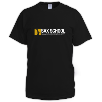 Sax School Mens T-Shirt