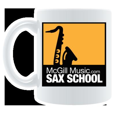 Sax School Mug