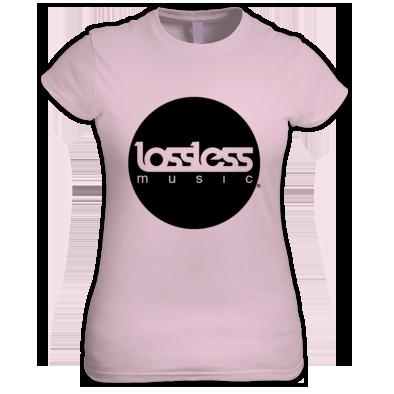 Lossless Circle Logo Tee (Womens)