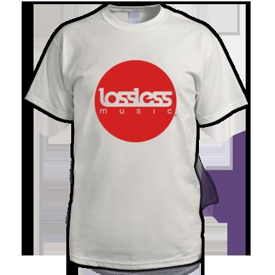Lossless Circle Logo Tee (Mens)