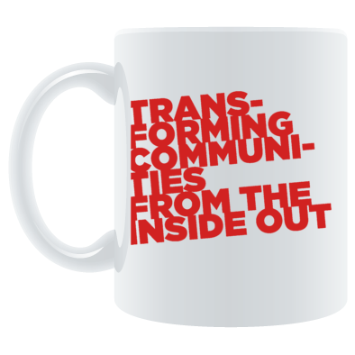 Transforming Communities MUG