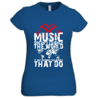Music Doesn't Change The World