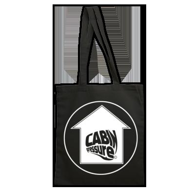 Cabin Pressure Label Logo White