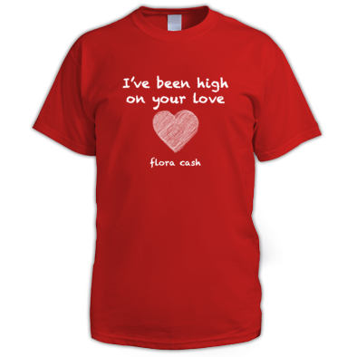 high on your love - men's T