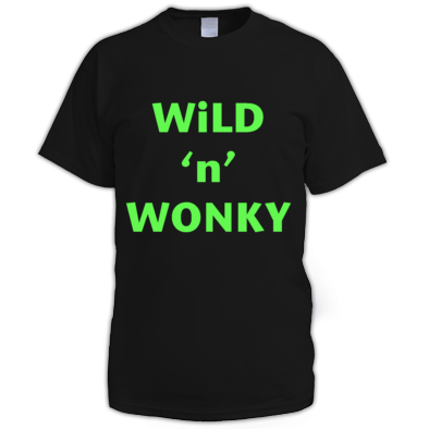 Wild n Wonky Tee (m)