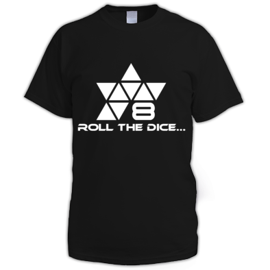 Mens Roll The 8 Sided Logo