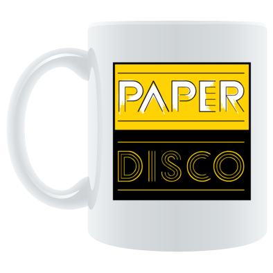 Paper Disco Yellow