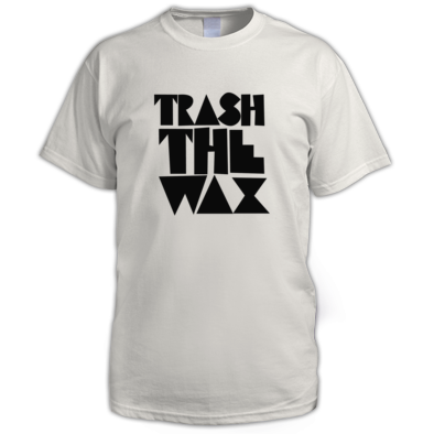 Trash The Wax - Black Logo M