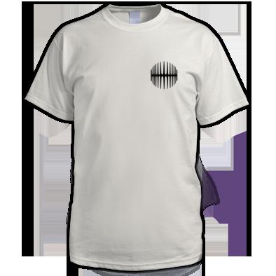 Elliptical Sun Music men's t-shirt (Split logo)