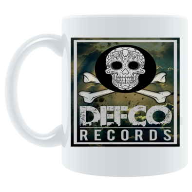 Defco Records coffee mug