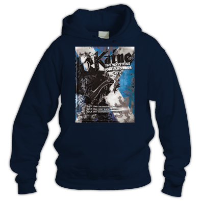 Scotland Tour Blue Hoody