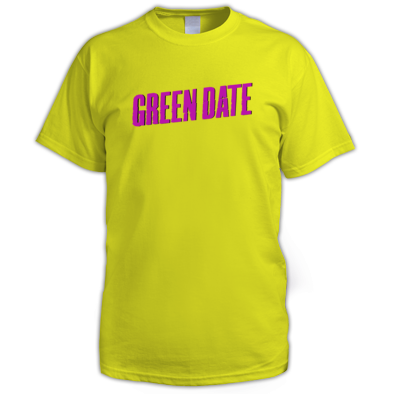 Green Date Logo T Shirt Mens