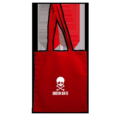 Green Date Skull Bag