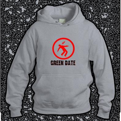 Green Date Warning Hoodie