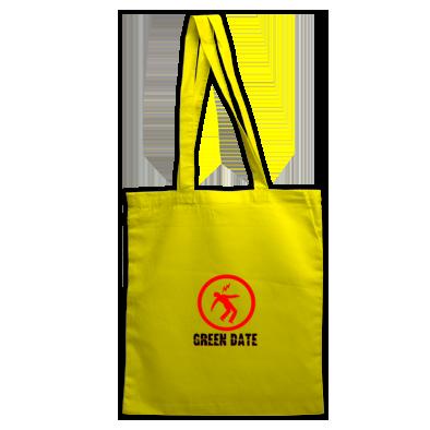 Green Date Warning Bag