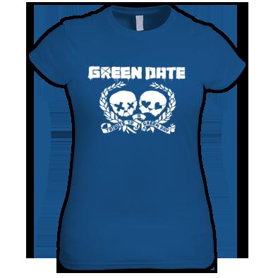 Green Date 21st Century Breakdown T Shirt Womans