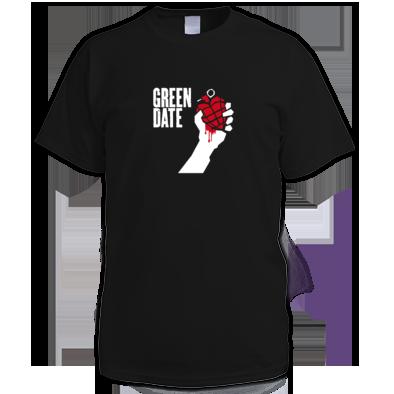 Green Date American Idiot T Shirt Mens