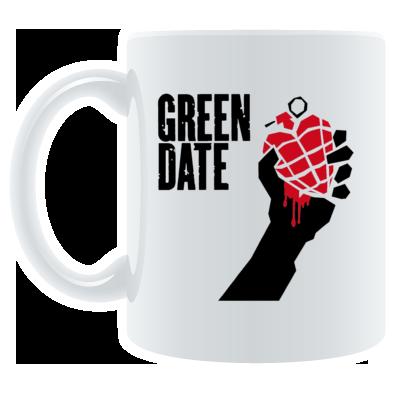 Green Date American Idiot Mug