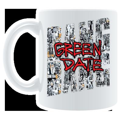 Green Date 2017 Mug