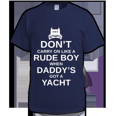 White on Navy