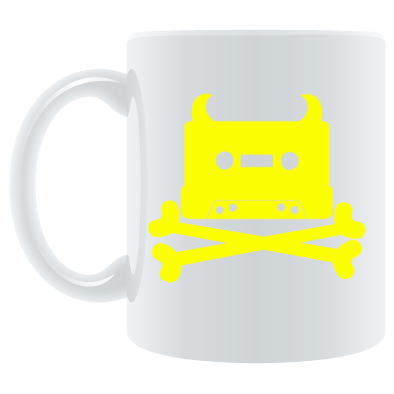Yellow on White
