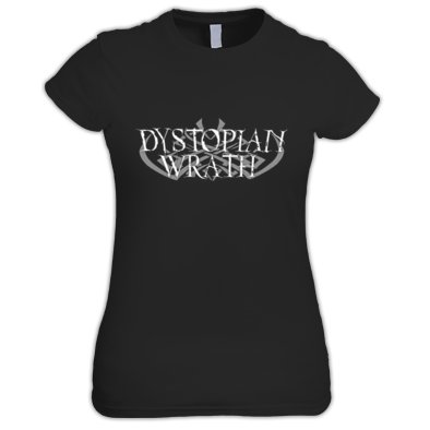 Dystopian Wrath Original Logo Girlie-T