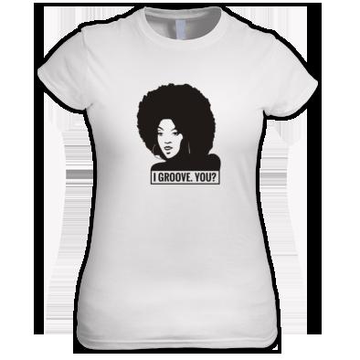 I Groove women's t-shirt