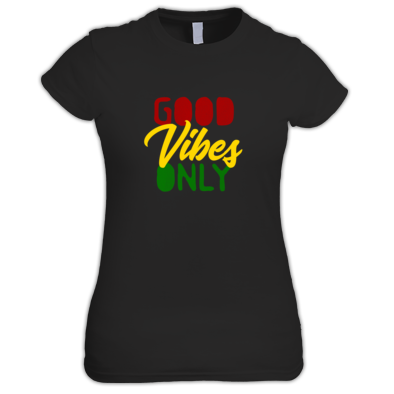 Good Vibes Only Red Gold & Green