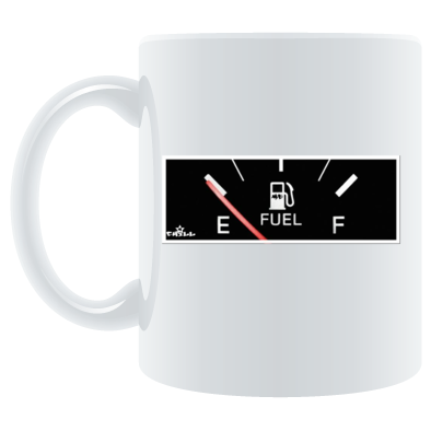 Runnin On Empty Mug