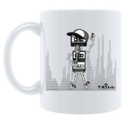 Tape-Man Mug