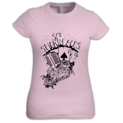 Retro logo (ladies) by 'Scarlet Shades Tattoos'