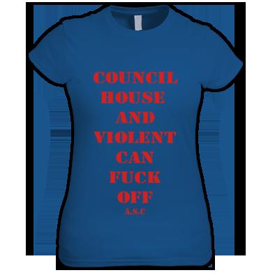 Girls council house tee