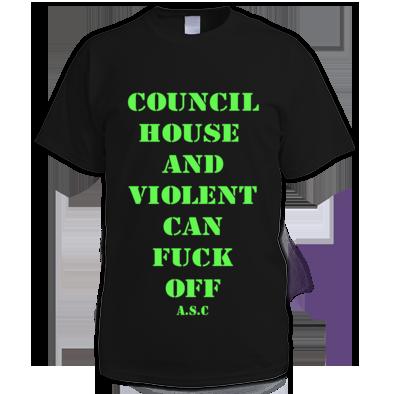 Council house A.S.c tee