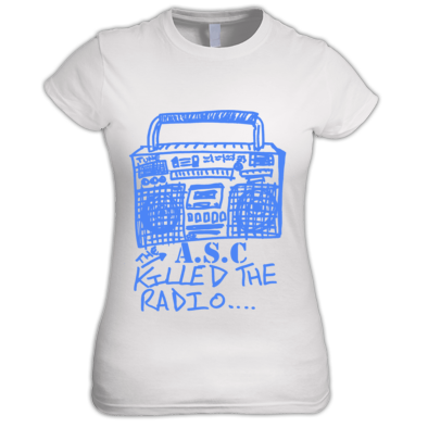 Girls The A.S.C killed the radio Tee