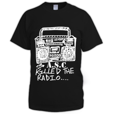 The A.S.C killed the radio tee