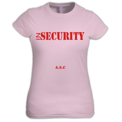 Girls inSECURITY A.S.C T-shirt