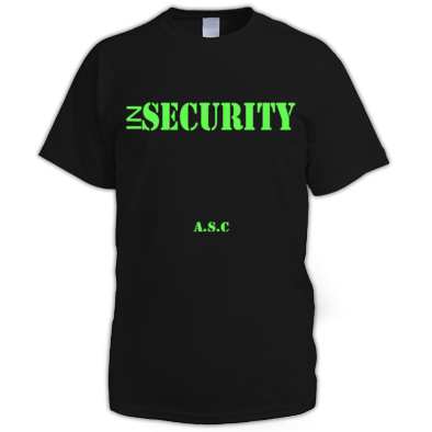 inSECURITY A.S.C T-shirt