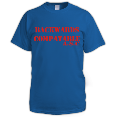 BACKWARDS ASC TEE