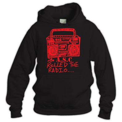 ASC KILLED THE RADIO HOODY