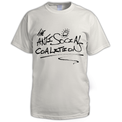 THE ANTI SOCIAL COALITION TEE
