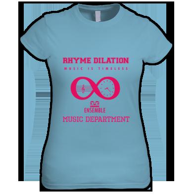 Rhyme Dilation Ensemble Music Is Timeless Varsity Logo