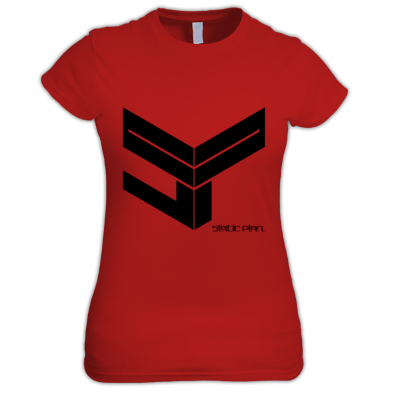 Static Plan SP Cube Womens T Shirt