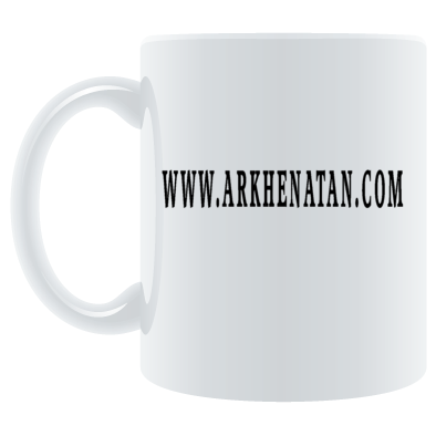 Arkhenatan White Mugs, Various Coloured Arkhenatan Website Design