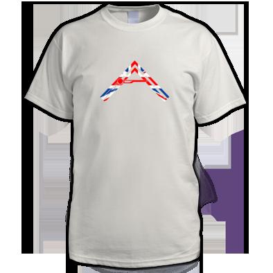 Men's Arkhenatan T-shirt - Arkhenatan Union Jack Logo