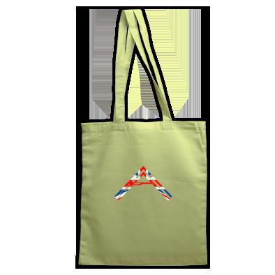 Arkhenatan Tote Bags - Various Colours - Arkhenatan Union Jack Logo